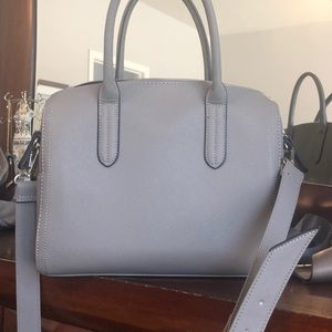 STEVE MADDEN Grey Handbag/ Purse
